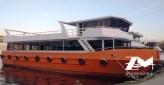 Bateau excursion passagers restaurant 24 m neuf capacité 150 passagers. Avec finitions au choix