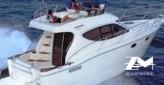 Gobbi 325 Fly bateau à moteur de 10 m avec 2 cabines 2 x 231 CV Volvo