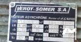 Moteur electrique 220/380 V mono et triphasé