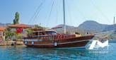 Goélette 15 m année 2014 équipée aménagée avec 4 cabines 8 passagers