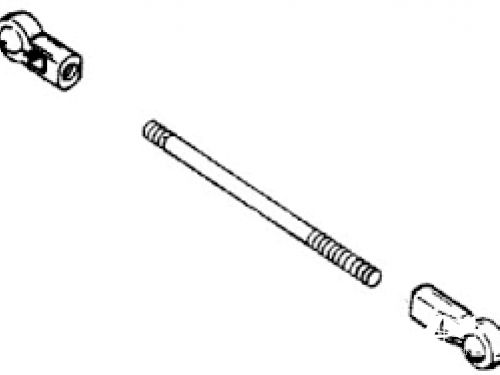 tige de selecteur d'embrayage mercury/mariner 19385 11