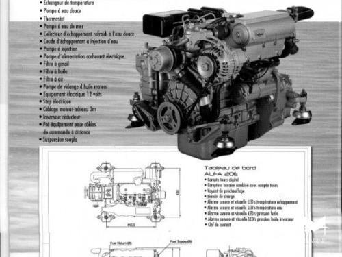 Moteur In-Board Diesel Craftsman Marine 27 cv en Promotion, Neuf, Garanti.