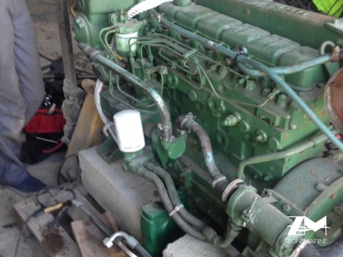 moteur perkins 6.354 6 cylindres turbo