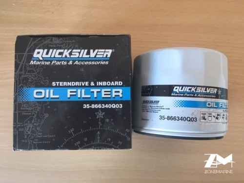 filtre huile mercruiser 35-866340Q03