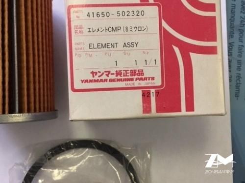 filtre gaz oil pour YANMAR 41650-502320