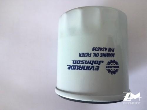 filtre huile johnson 0434839