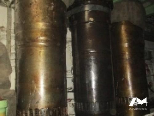 Sulzer 6RTA-62U Cylinder Liner 02No New Piston Ring 01Nos New