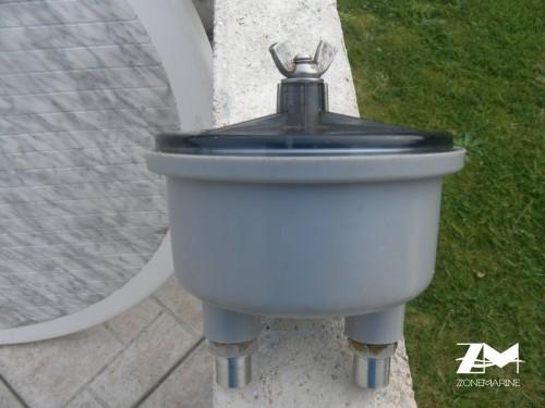 filtre d'admission eau de mer ou eau douce vetus type 150