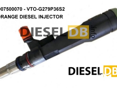 MTU / L'Orange diesel injector